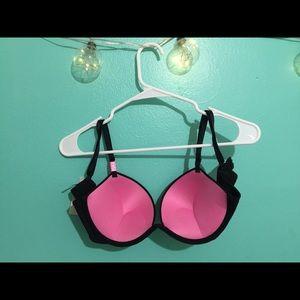 PINK Victoria's Secret Intimates & Sleepwear - Brand new Black.....PINK super push up BRA 34C